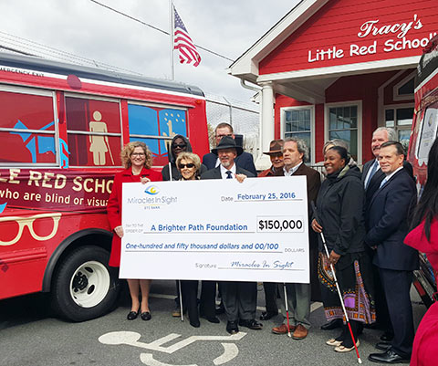 Tracy Little Red Schoolhouse Donation